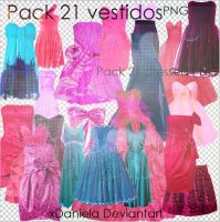 Pack Vestidos Png Dress Png by xDaniela