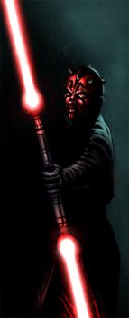 DARTH MAUL COULEURS by soys