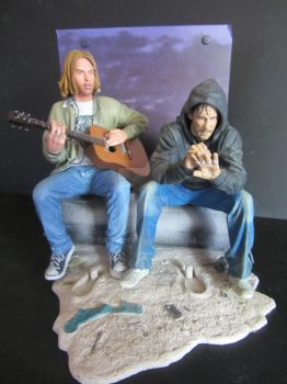 Kurt Cobain and Charlie Pace by Cathy86