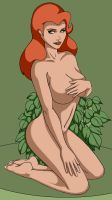 Poison Ivy 'as nature intended' by Marker77