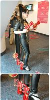 ACE 2013 - Bayonetta - Full Costume Detail Set by xsakichanx