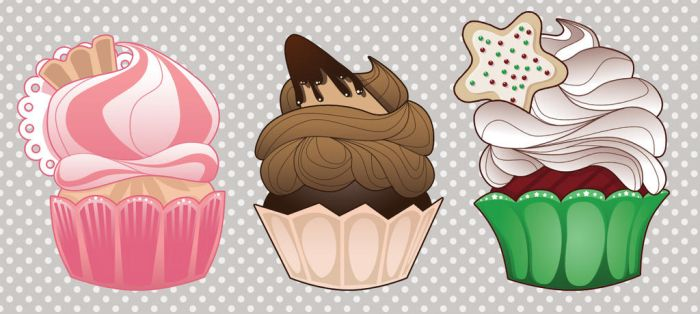 Cupcake Icons by picklenation