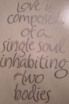Tag - Silver Love Quote 1 by Gracies-Stock