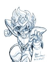 Seiya Sketch by yuski