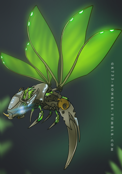 BIONICLE: Uxar, Creature of Jungle by gk733