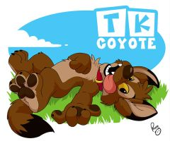 BLFC badge: TK Coyote by pandapaco