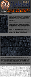 Tutorial Tuesday: Charcoal Ember Photomanipulation by JakkalWolf