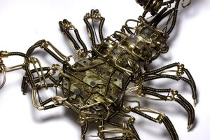 Steampunk Scorpion Robot 2 by CatherinetteRings