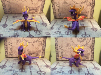 Spyro Felt Doll by MichelleBergeron