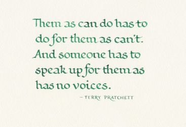 Terry Pratchett - Them As Can Do by MShades