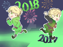 Happy New Year!! by WritingButterflies
