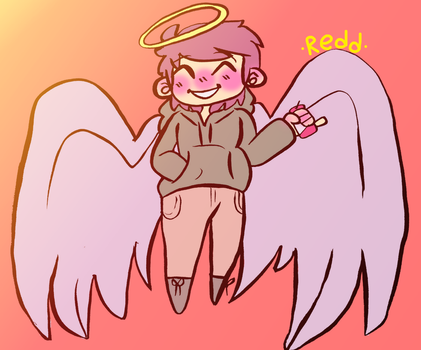 Soda Angel by RedHoodieGirl