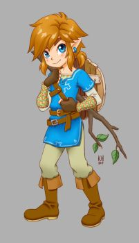 Kid Link by katiesketch