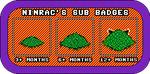 Twitch Sub Badge set - NinRac by NinRac
