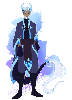 Omen human form by Opheleus