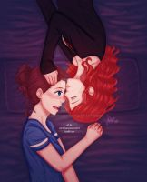 Goodnight kiss . Bechloe PP2 by sexyfairy