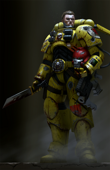 Imperial Fist Reiver by Bobot073