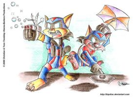 The toon side of the Swat Kats by Tiquitoc