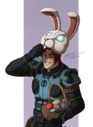 HT: Ben Is The Easter Bunny by MyFantasiWorld