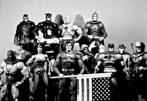 The Justice Society of America by Batced