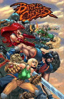 Battle Chasers Revival by GhostYurei