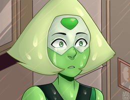 When It Rains // Peridot SU Fanart by iamzxkv