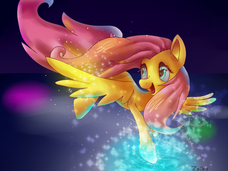 Fluttershy by Zoiby