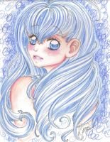 Blue sugar candy. by Odespaprikan