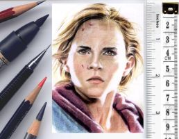 Hermione sketchcard by whu-wei