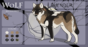 WoLF:: Lavender :: by FancyRatties