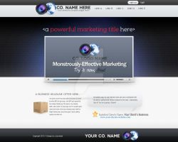 Web Design: Landing Page Template by polarbear0743