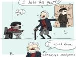 dishonored, doodles 40 by Ayej