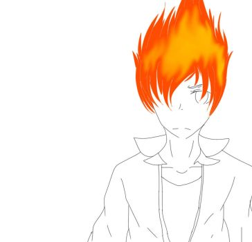 drawing fire is so fucking hard  by JesusBloodyChrist