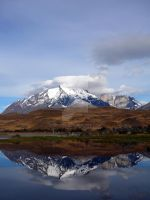 The Reflected mountain 1 by ddofer