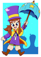 Hat Kid by Shinyillusionz
