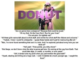 Fav Donut mottos by ShepardSoldier