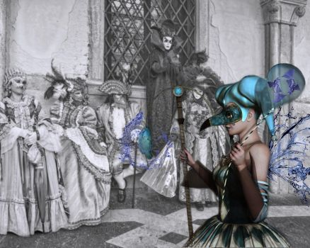 Pisces Comes to Carnivale by Reddawgi