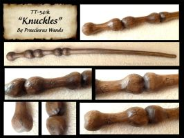 Knuckles - Wand Details by PraeclarusWands