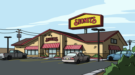 Rick And Morty | S3E1 Shoney's by Ceelker