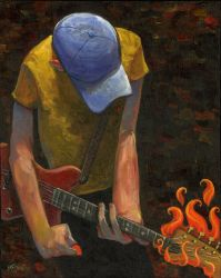 The Guitarist. by jasinski