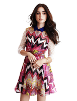 Lily Collins Png by LuGinger