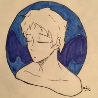 Inktober Day 7 Lance  by Ailizerbee08