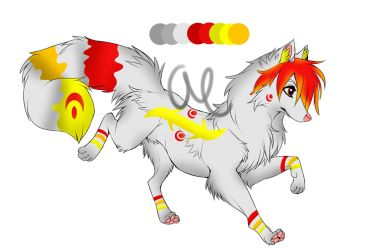 Wolf Adoptable CLOSED by Jeclahay