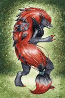 Zoroark and Zorua
