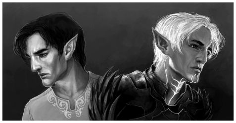 Leto / Fenris by coupleofkooks