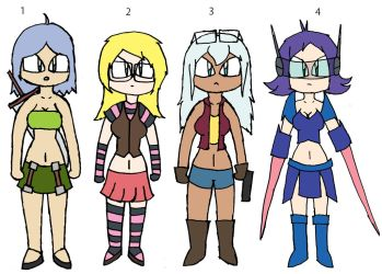 Free Adoptables Batch 655 (Closed) by D-Prototype