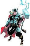 The Might Thor by rafaelalbuquerqueart