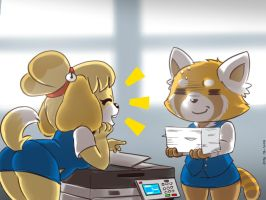 Can You Just Go To Work Please? by Mr-Shin