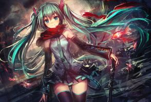 Miku by THE-LM7