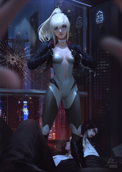 I'm not locked in here with you... by raikoart